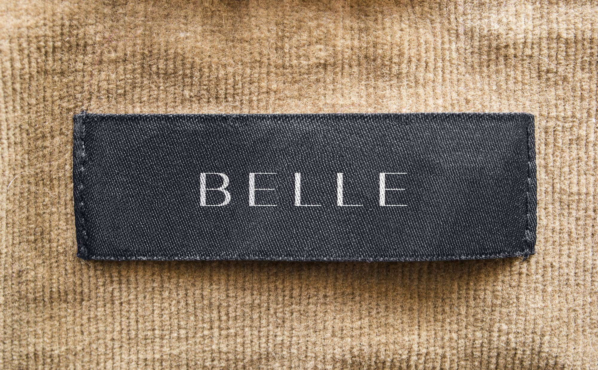 Belle Clothing Label