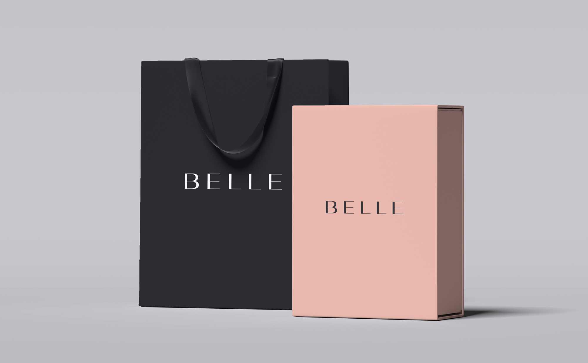 Belle Shopping Bags